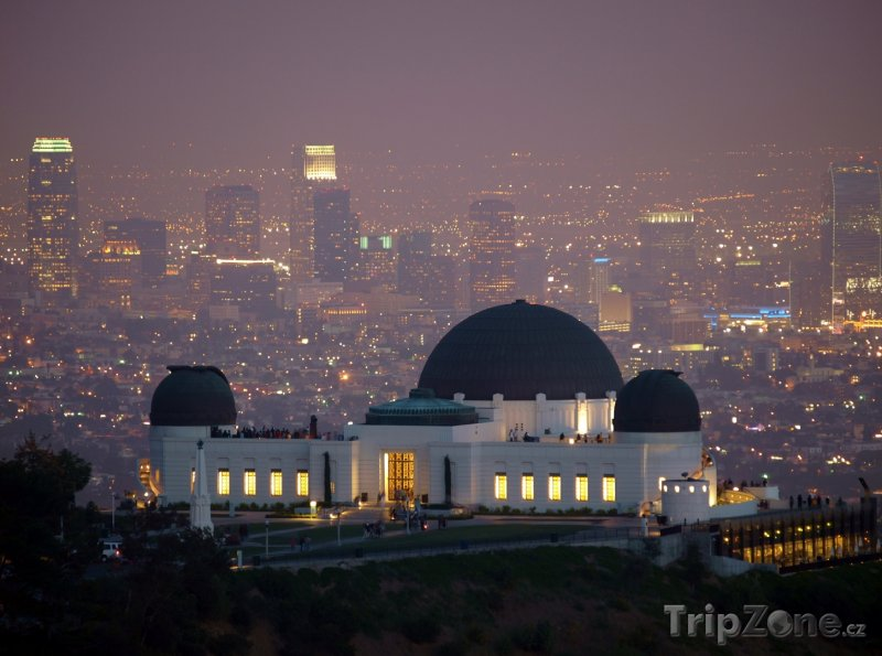 Fotka, Foto Griffith Observatory (Los Angeles, USA)