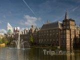 Haag, komplex budov Binnenhof - nizozemský parlament
