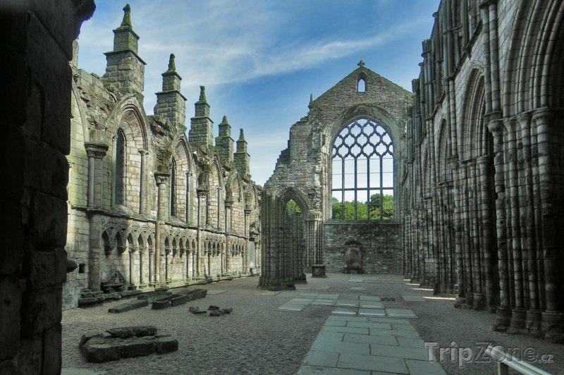 Fotka, Foto Holyrood Abbey (Edinburgh, Velká Británie)