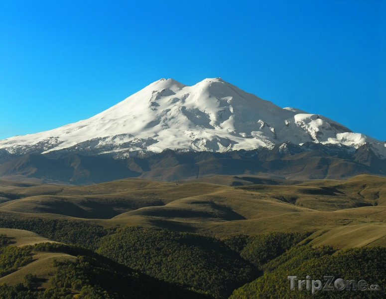 Fotka, Foto Hora Elbrus na Kavkaze (Rusko)