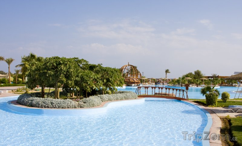 Fotka, Foto Hurghada, hotelový bazén (Východní pobřeží, Egypt)