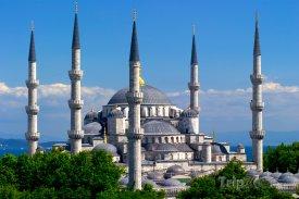 Istanbul, mešita Sultan Ahmed