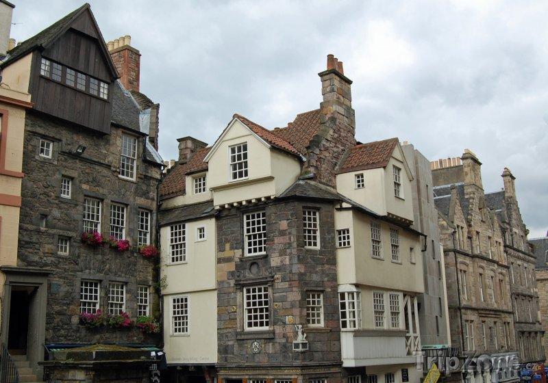 Fotka, Foto John Knox House (Edinburgh, Velká Británie)
