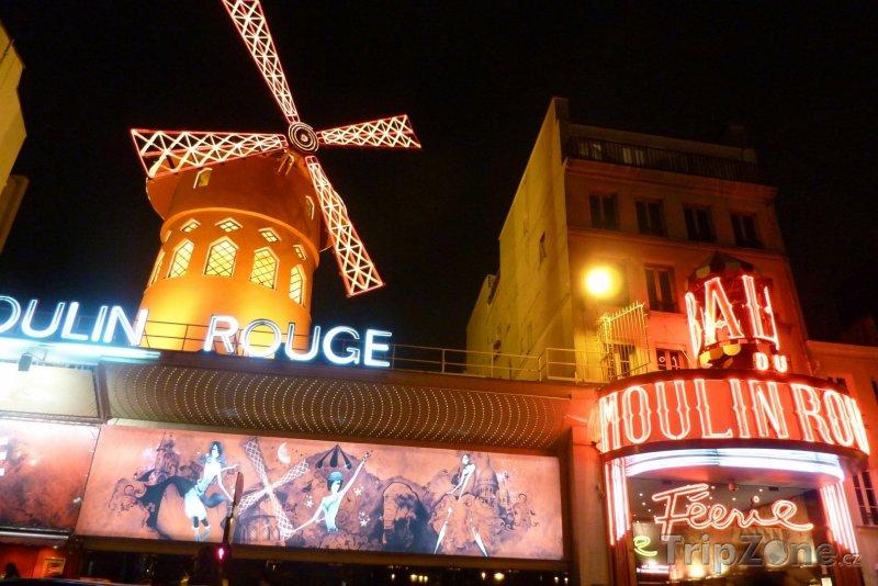 Fotka, Foto Kabaret Moulin Rouge (Paříž, Francie)
