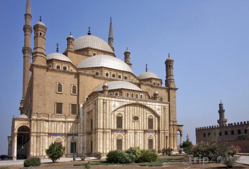 Fotka, Foto Káhira, mešita Muhammada Alího (Egypt)