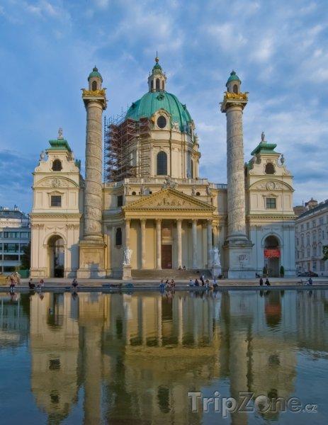 Fotka, Foto Karlskirche (Vídeň, Rakousko)