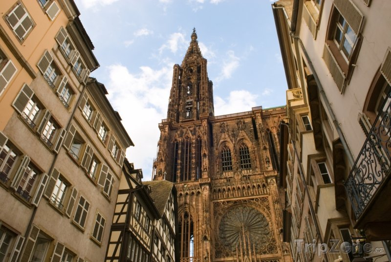 Fotka, Foto Katedrála Notre-Dame (Štrasburk, Francie)