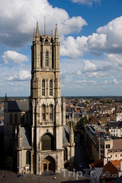 Fotka, Foto Katedrála sv. Bavona (Gent, Belgie)