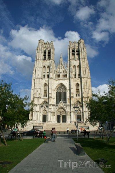 Fotka, Foto Katedrála sv. Michaela a Guduly (Brusel, Belgie)