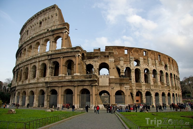 Fotka, Foto Koloseum (Řím, Itálie)