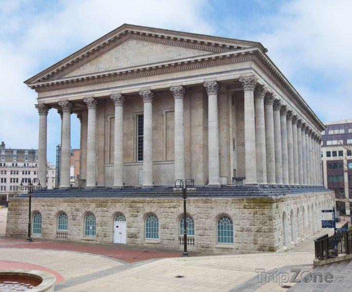 Fotka, Foto Koncertní síň Birmingham Town Hall (Birmingham, Velká Británie)