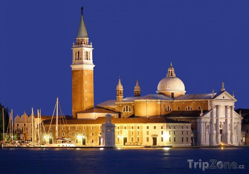 Fotka, Foto Kostel San Giorgio Maggiore na stejnojmenném ostrově (Benátky, Itálie)