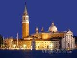 Kostel San Giorgio Maggiore na stejnojmenném ostrově
