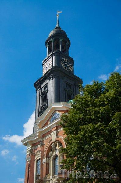 Fotka, Foto Kostel Sankt Michaelis v Hamburku (Hamburk, Německo)