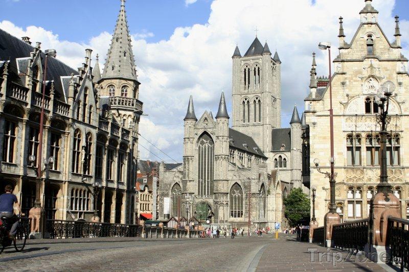 Fotka, Foto Kostel sv. Mikuláše (Gent, Belgie)