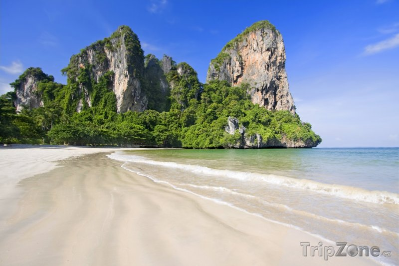 Fotka, Foto Krabi, pláž (Thajsko)