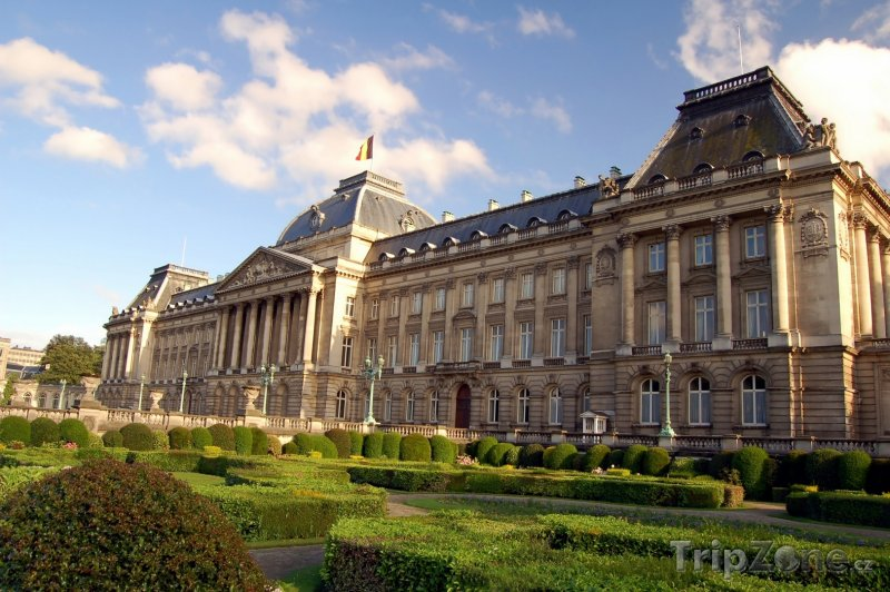 Fotka, Foto Královský palác (Palais Royal) (Brusel, Belgie)