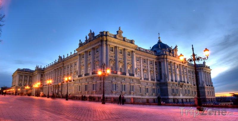 Fotka, Foto Královský palác (Madrid, Španělsko)