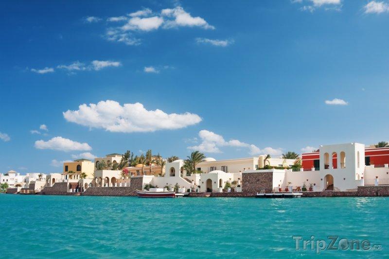 Fotka, Foto Letovisko El Gouna (Východní pobřeží, Egypt)