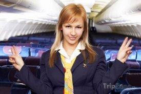 Letuška uděluje bezpečnostní pokyny