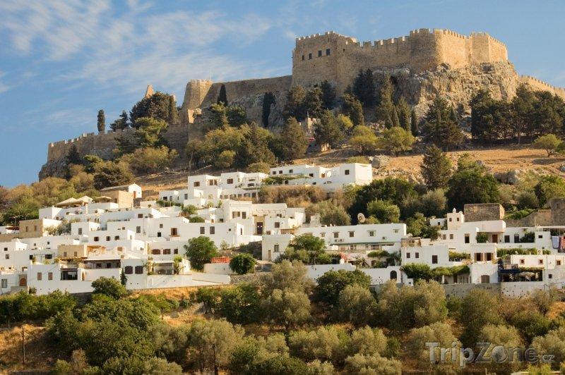 Fotka, Foto Lindos, Akropole (Rhodos, Řecko)