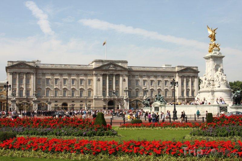 Fotka, foto londýn - buckinghamský palác (londýn, velká británie