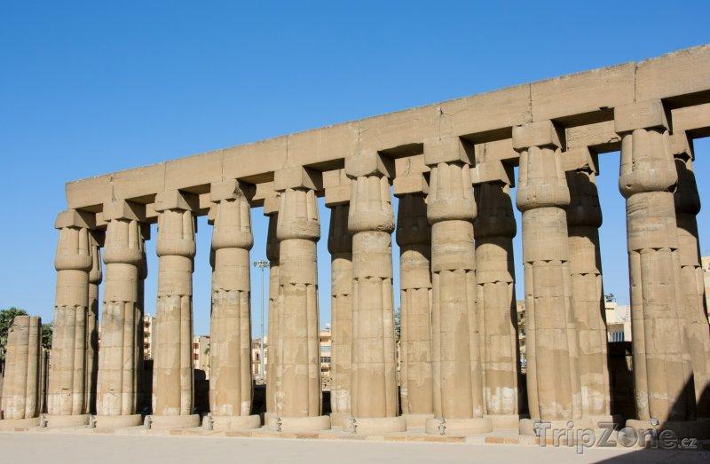Fotka, Foto Luxor, chrám (Egypt)