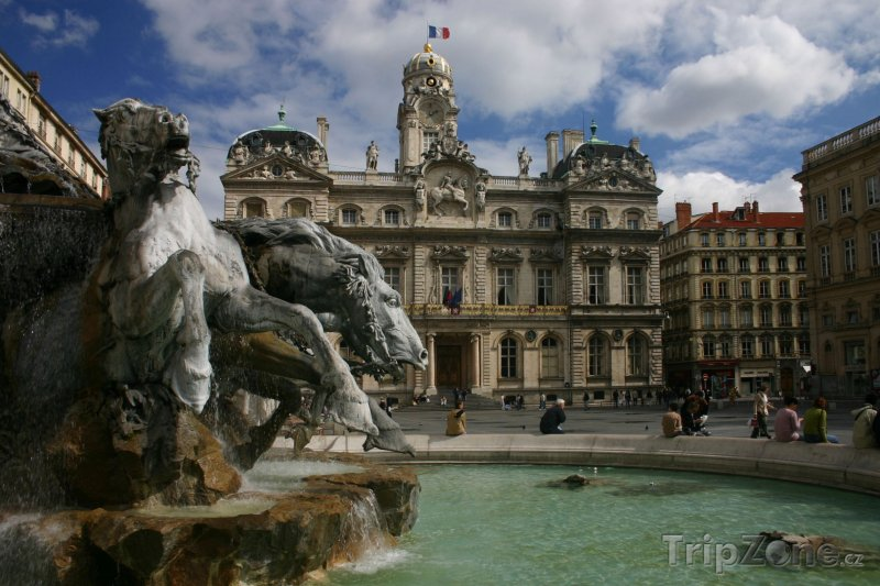 Fotka, Foto Lyonská radnice (Lyon, Francie)