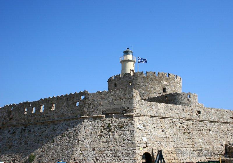 Fotka, Foto Maják sv. Mikuláše (Rhodos, Řecko)