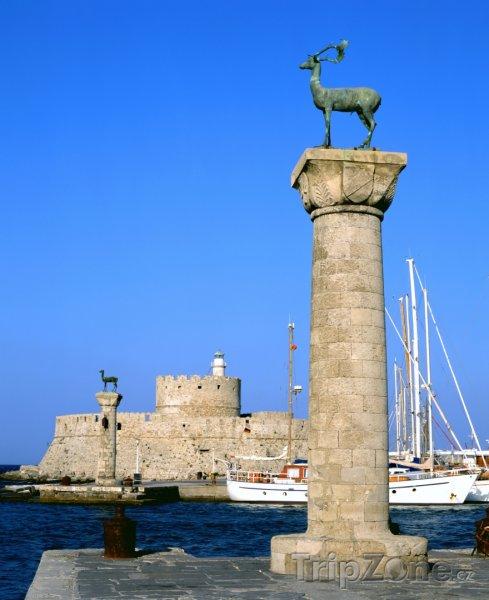 Fotka, Foto Mandraki, přístav (Rhodos, Řecko)