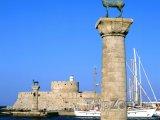 Mandraki, přístav