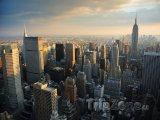 Manhattan, západ slunce