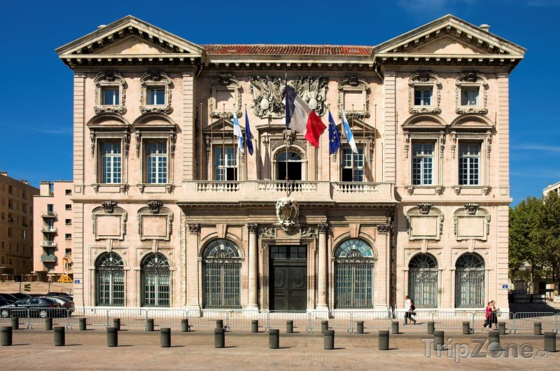 Fotka, Foto Marseilleská radnice (Marseille, Francie)