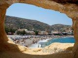 Matala, pláž