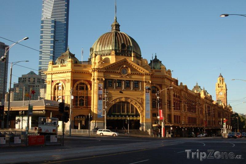 Fotka, Foto Melbourne, Flinders Street Station (Austrálie)
