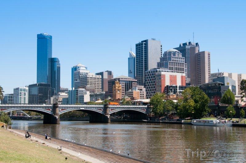 Fotka, Foto Melbourne, pohled na město (Austrálie)