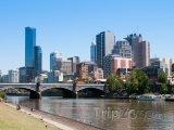 Melbourne, pohled na město