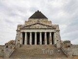 Melbourne, válečný památník Shrine of Remembrance