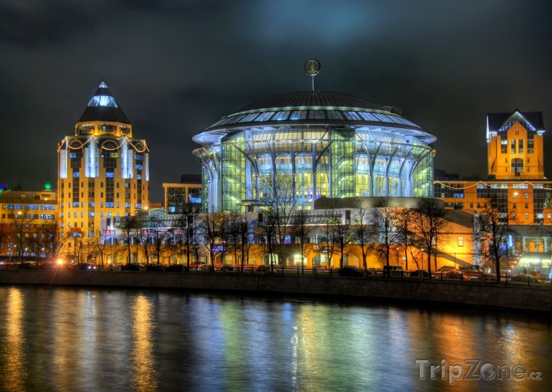 Fotka, Foto Mezinárodní dům hudby (Moskva, Rusko)