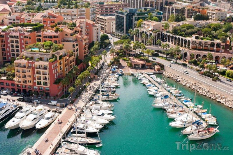 Fotka, Foto Monako, přístav (Azurové pobřeží, Francie)