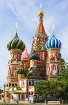 Moskva - chrám Vasila Blaženého