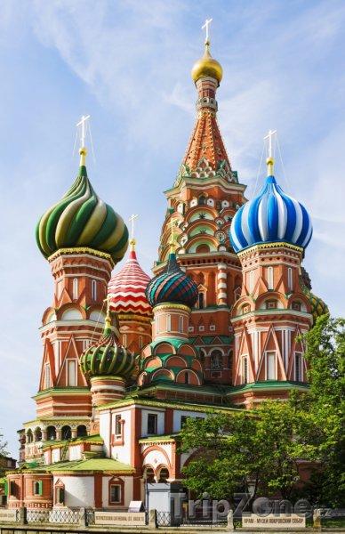 Fotka, Foto Moskva - chrám Vasila Blaženého (Moskva, Rusko)
