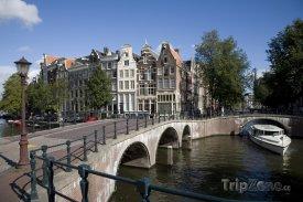 Most přes kanál Keizersgracht