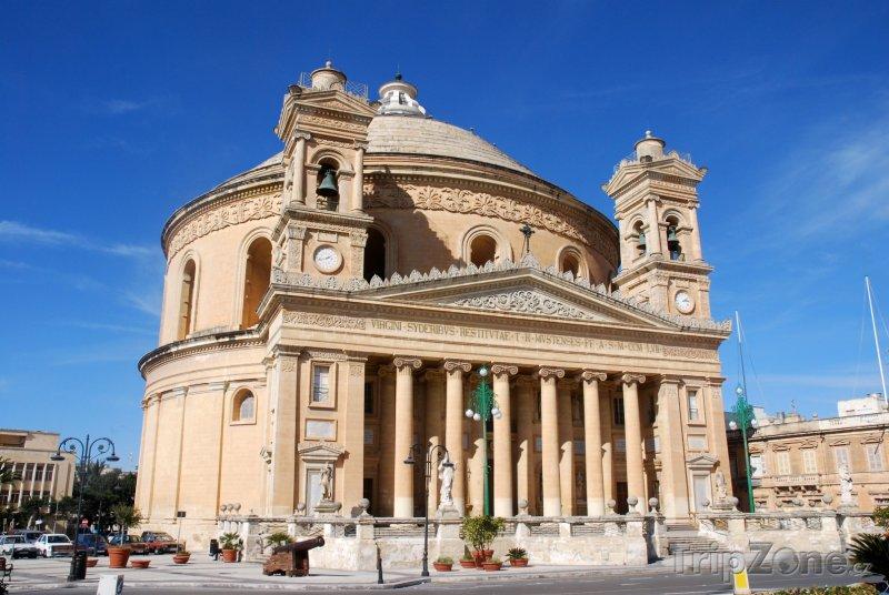 Fotka, Foto Mosta, rotunda (Malta)