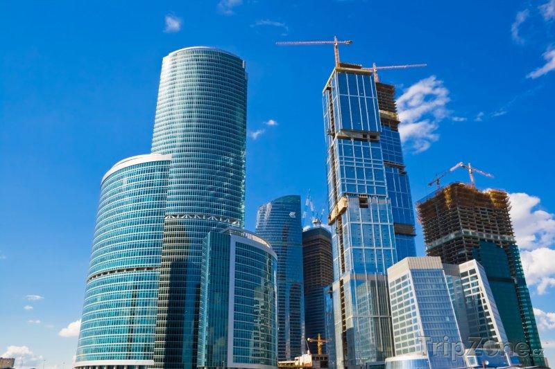 Fotka, Foto Mrakodrapy Mezinárodního obchodního centra (Moskva, Rusko)