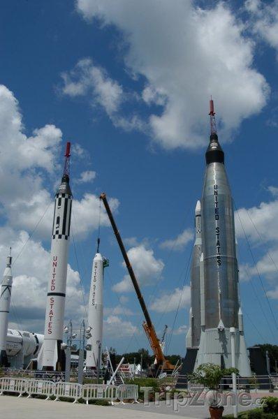 Fotka, Foto Mys Canaveral, Kennedyho vesmírné středisko (Florida, USA)