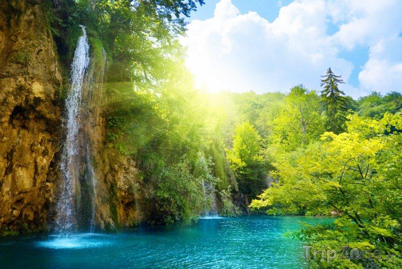 Fotka, Foto Národní park Plitvická jezera, vodopády (Chorvatsko)
