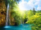 Národní park Plitvická jezera, vodopády