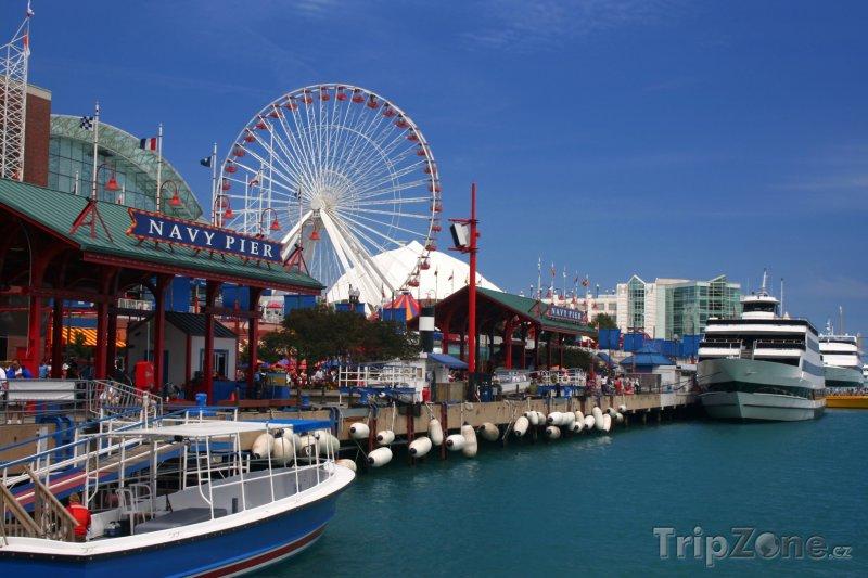 Fotka, Foto Navy Pier (Chicago, USA)