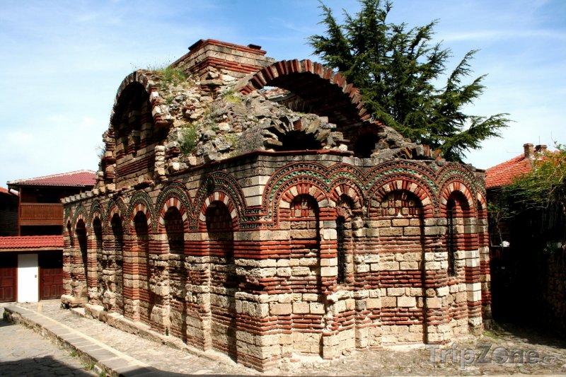 Fotka, Foto Nesebar, kostel Krista Pantokrata (Centrální část pobřeží, Bulharsko)